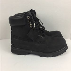 {Timberland} Black construction boots